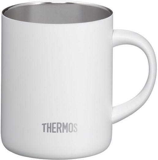 THERMOS Tasse »Longlife«, doppelwandig, Edelstahl, 0,35 Liter, mit Deckel