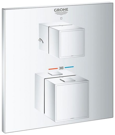 Grohe Brausethermostat »Grohtherm Cube« 2-Wege-Umstellung integriert