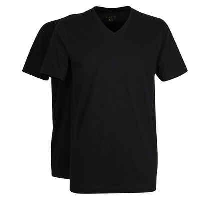 bugatti T-Shirt (Packung, 2-tlg., 2er-Pack)