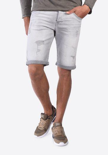 Kaporal Jeans-Shorts in Destroyed-Optik