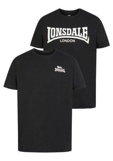 Lonsdale T-Shirt »PIDDINGHOE« (2-tlg)