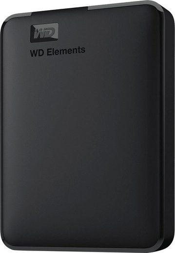 "WD »Elements Portable« externe HDD-Festplatte 2,5"" (4 TB) 5000 MB/S Lesegeschwindigkeit)"