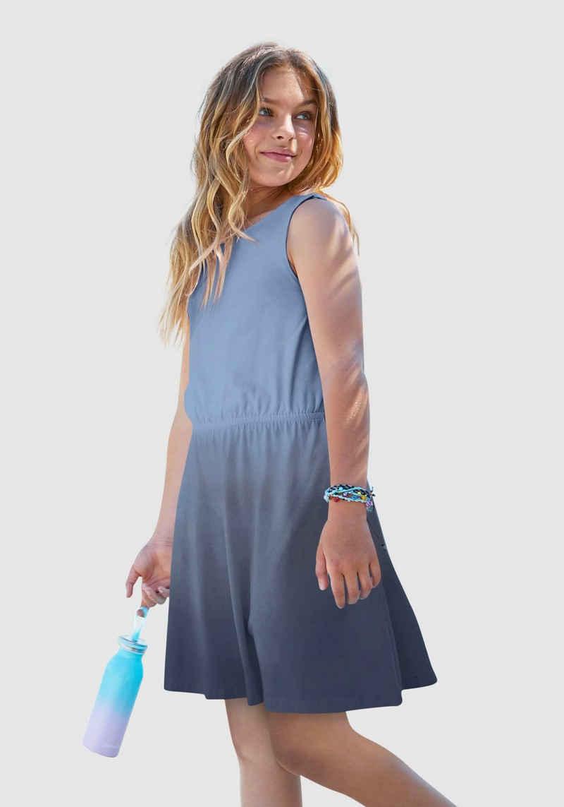 Arizona Trägerkleid mit schönem Farbverlauf