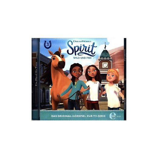 Edel Hörspiel »CD Spirit, wild und frei 03 - Ein Pferd für Turo«