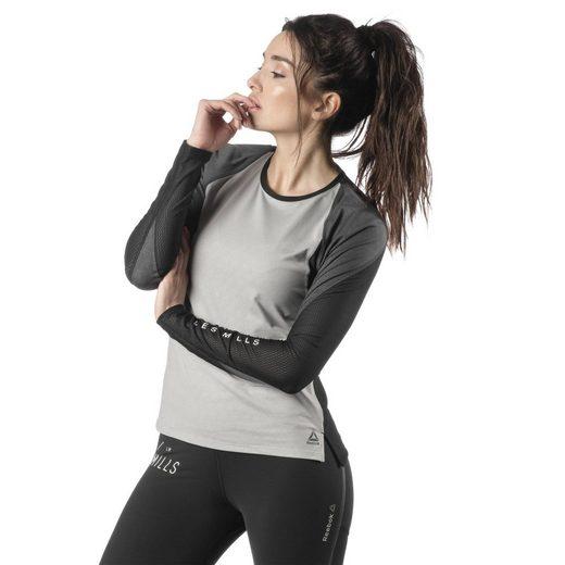 Reebok Langarmshirt »LES MILLS® SmartVent Shirt«