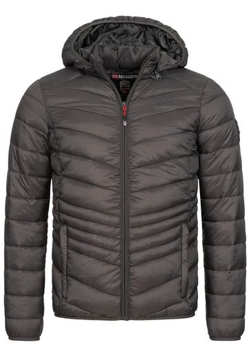 Geographical Norway Steppjacke »GNDAMIEL« Herren warme Stepp Jacke mit Kapuze