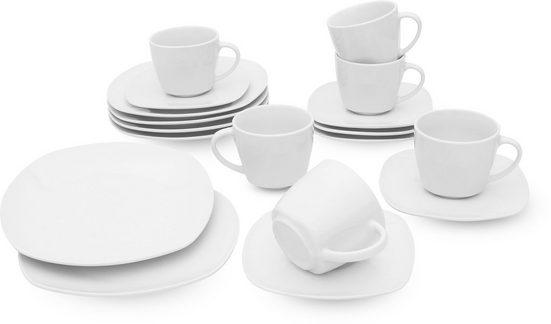 Retsch Arzberg Kaffeeservice »Fino« (18-tlg), Porzellan