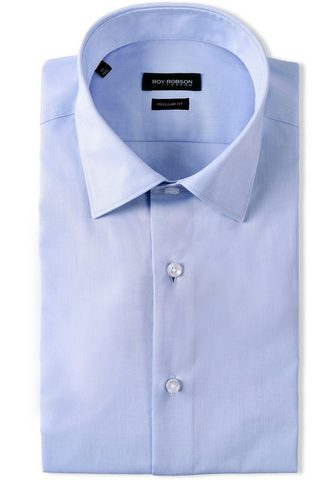 Roy Robson Dalykiniai marškiniai CHAMBRAY zweifar...