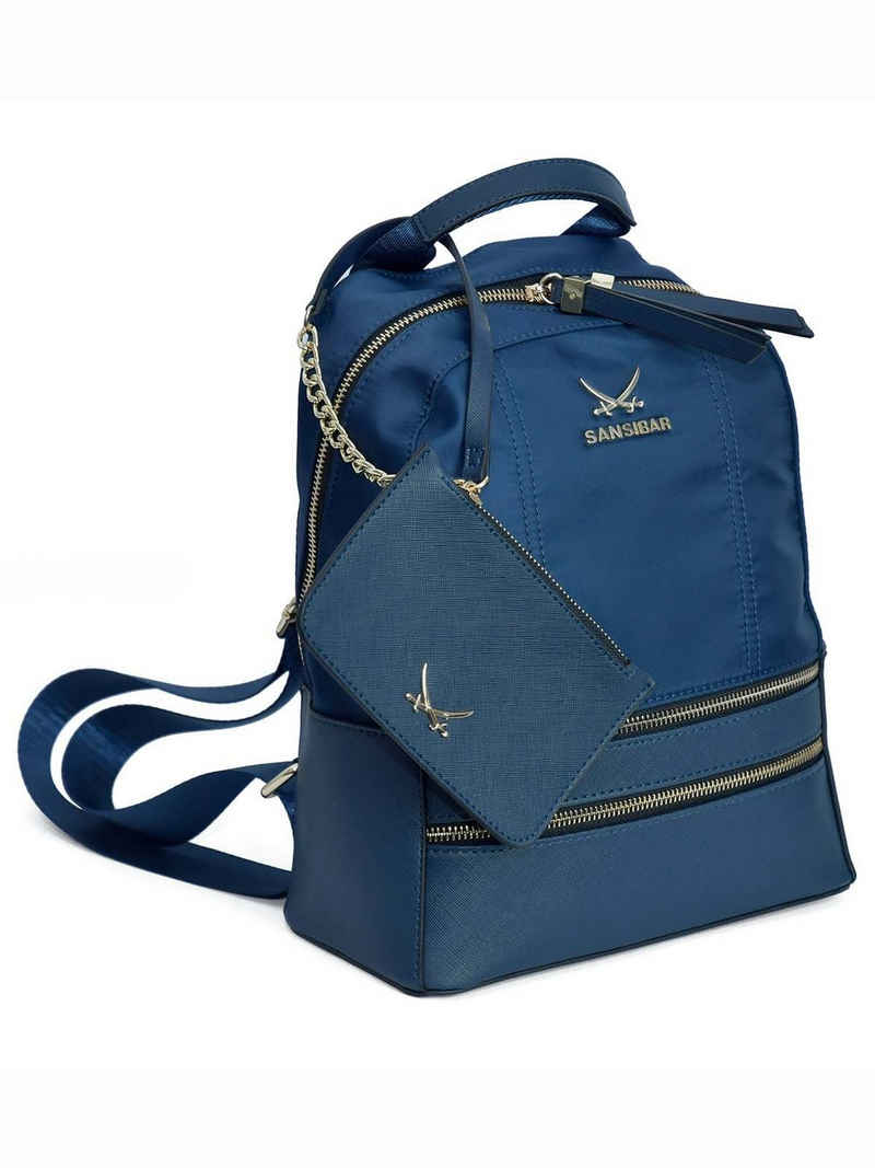 Sansibar Rucksack »SANSIBAR-Damen Rucksack Backpack 24x29x13 - 011-oc«