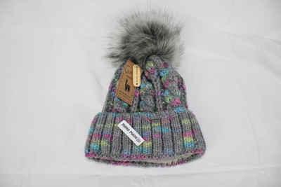Mein Style Bommelmütze »Alpaka Strick Bommelmütze viele Farben«