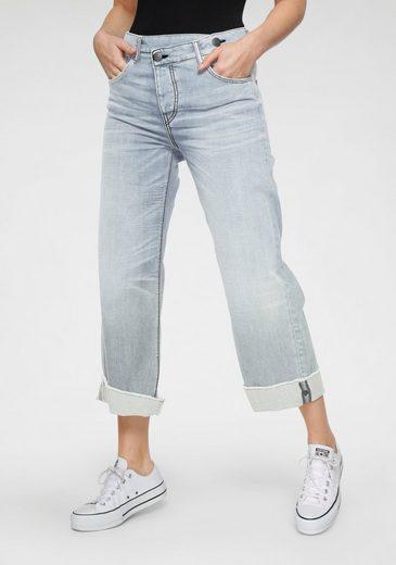 Herrlicher Weite Jeans »MÄZE DENIM STRETCH« im Crossover-Look