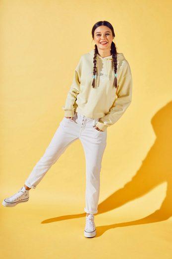 Herrlicher 7/8-Jeans »SHYRA CROPPED« White Denim