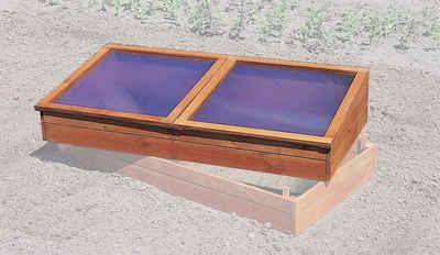 promadino Frühbeet, BxTxH: 140x70x28 cm