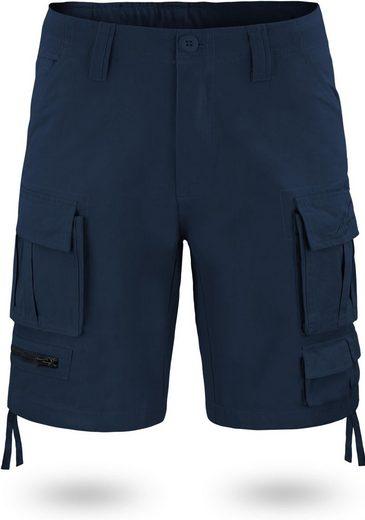 normani Bermudas »Herren Shorts Atacama« Vintage Shorts kurze Sommershorts Cargoshorts aus 100% Bio-Baumwolle