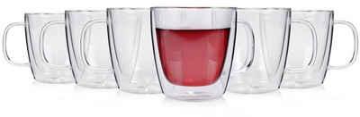 SÄNGER Gläser-Set »Tee«, Glas, Doppelwandige Thermogläser