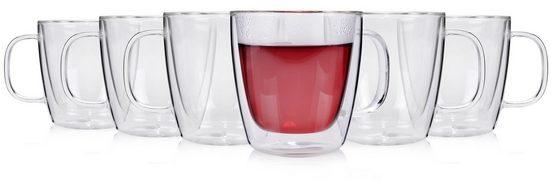 SÄNGER Gläser-Set »Gläserset«, Glas, Doppelwandige Thermogläser