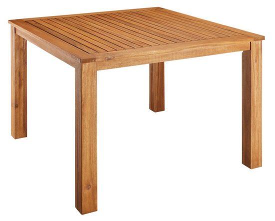 MERXX Gartentisch »Toskana«, 110x110 cm