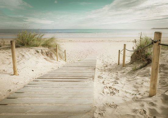 Consalnet Fototapete »Strand«, glatt, Motiv