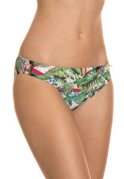 Guess Badeslip »GUESS Bade-Slip schickes Damen Bikini-Unterteil mit floralen-Muster Schwimm-Hose Mehrfarbig«