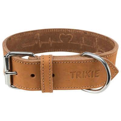 TRIXIE Hunde-Halsband »Rustic Fettleder Heartbeat«, Leder
