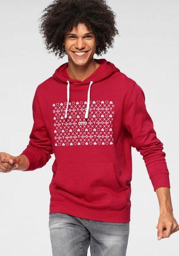 """OTTO Kapuzensweatshirt »OTTO Logo« Kleine Symbole um """"OTTO""""/aus GOTS zertifizierter Bio-Baumwolle"""