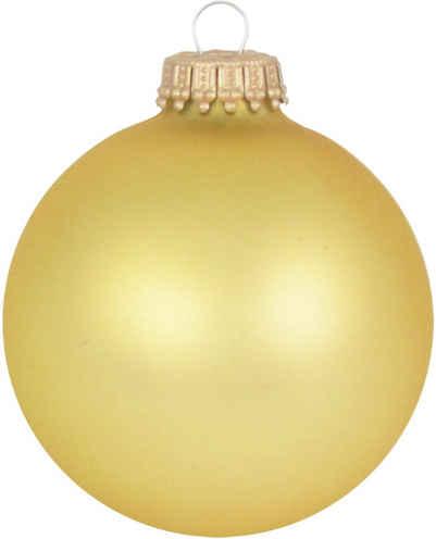 Krebs Glas Lauscha Weihnachtsbaumkugel »CBK70217« (8 Stück)