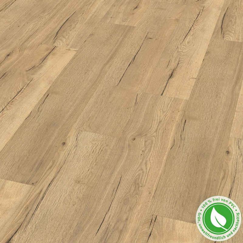 EGGER Designboden »GreenTec EHD014 Monfort Eiche natur«, Holzoptik, Robust & strapazierfähig, Packung, 7,5mm, 1,995m²