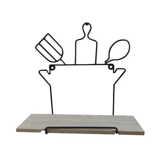 Küchenregale - HTI Line Wandregal »Wandboard Kochtopf Viola«, Wandboard  - Onlineshop OTTO