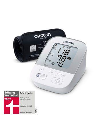 Omron Oberarm-Blutdruckmessgerät X4 Smart su...