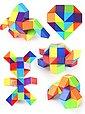 digitCUBE 3D-Puzzle »Magic Snake Knobelspiel - magische Schlange mit 48 Regenbogen Puzzle Blöcke bunt«, 48 Puzzleteile, Bild 3