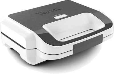 Tefal 2-in-1-Sandwichmaker SW7011 Snack XL, 300 W, 2 antihaftbeschichtete Plattensets; Rezeptheft inklusive