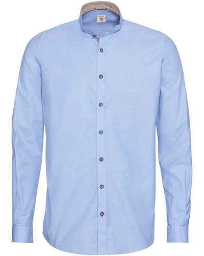 Pure Trachtenhemd »Oxfordhemd mit Stehkragen«
