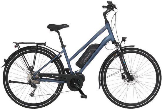 FISCHER Fahrräder E-Bike »ETD 1820«, 9 Gang Shimano Deore Schaltwerk, Kettenschaltung, Mittelmotor 250 W