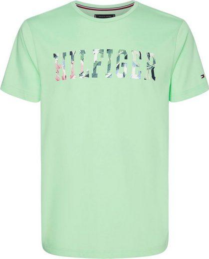 TOMMY HILFIGER T-Shirt »HILFIGER FLORAL TEE«