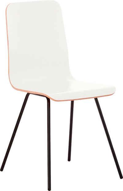 Mayer Sitzmöbel 4-Fußstuhl »Stuhl myTILDA«, mit laminierter Sitzschale