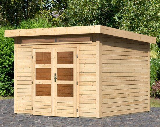 KARIBU Gartenhaus »Kandern 6«, BxT: 305x303 cm