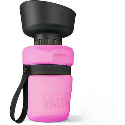 kueatily Wasserkessel »Tragbare Haustier-Wasserflasche, 520 ml Hunde-Trinkflasche, Hunde-Trinkflasche für Reisen, BPA-frei, für Camping, Spazierengehen, Wandern«