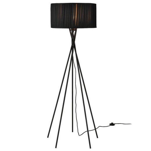 lux.pro Stehlampe, »Black Mikado« Höhe 155cm