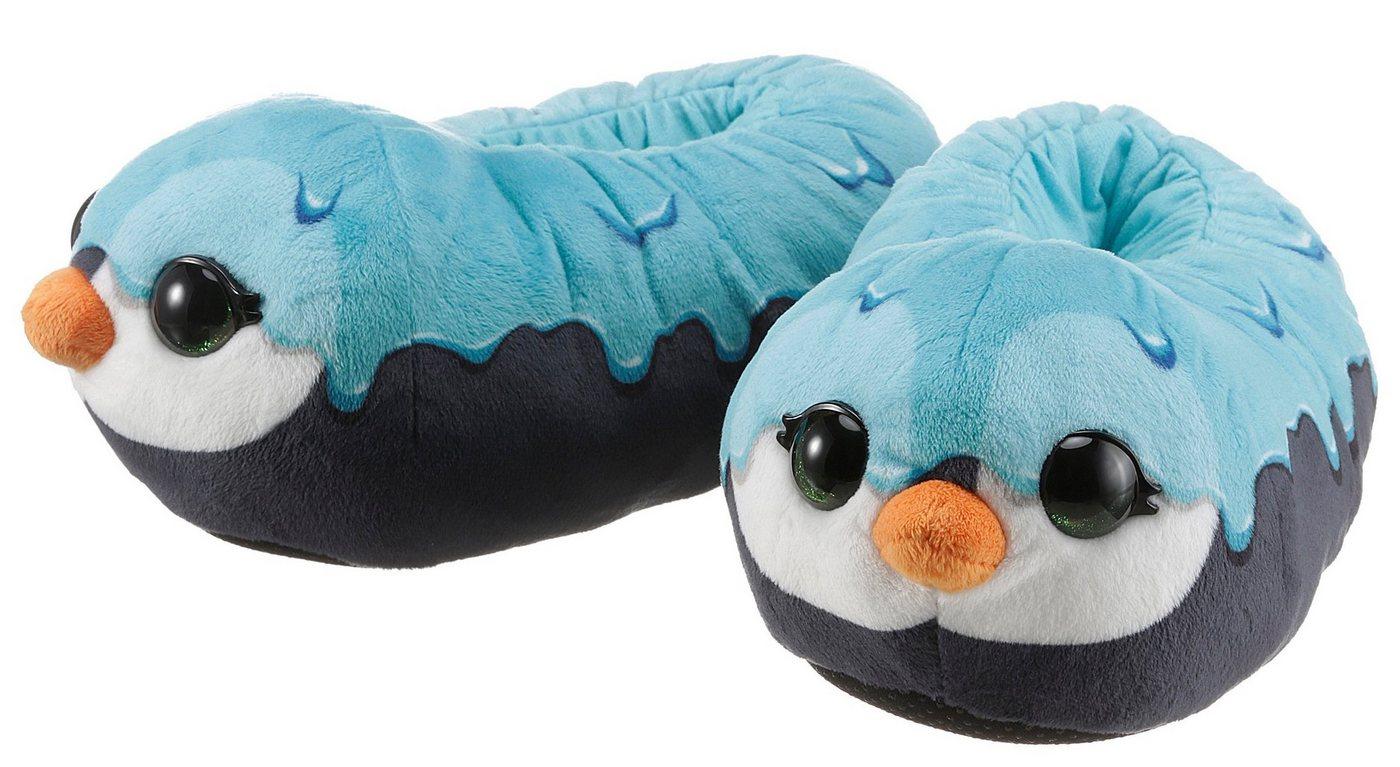 Hausschuhe - Nici »NICIdoo Pinguin« Plüsch Hausschuhe mit großen Glubschaugen ›  - Onlineshop OTTO