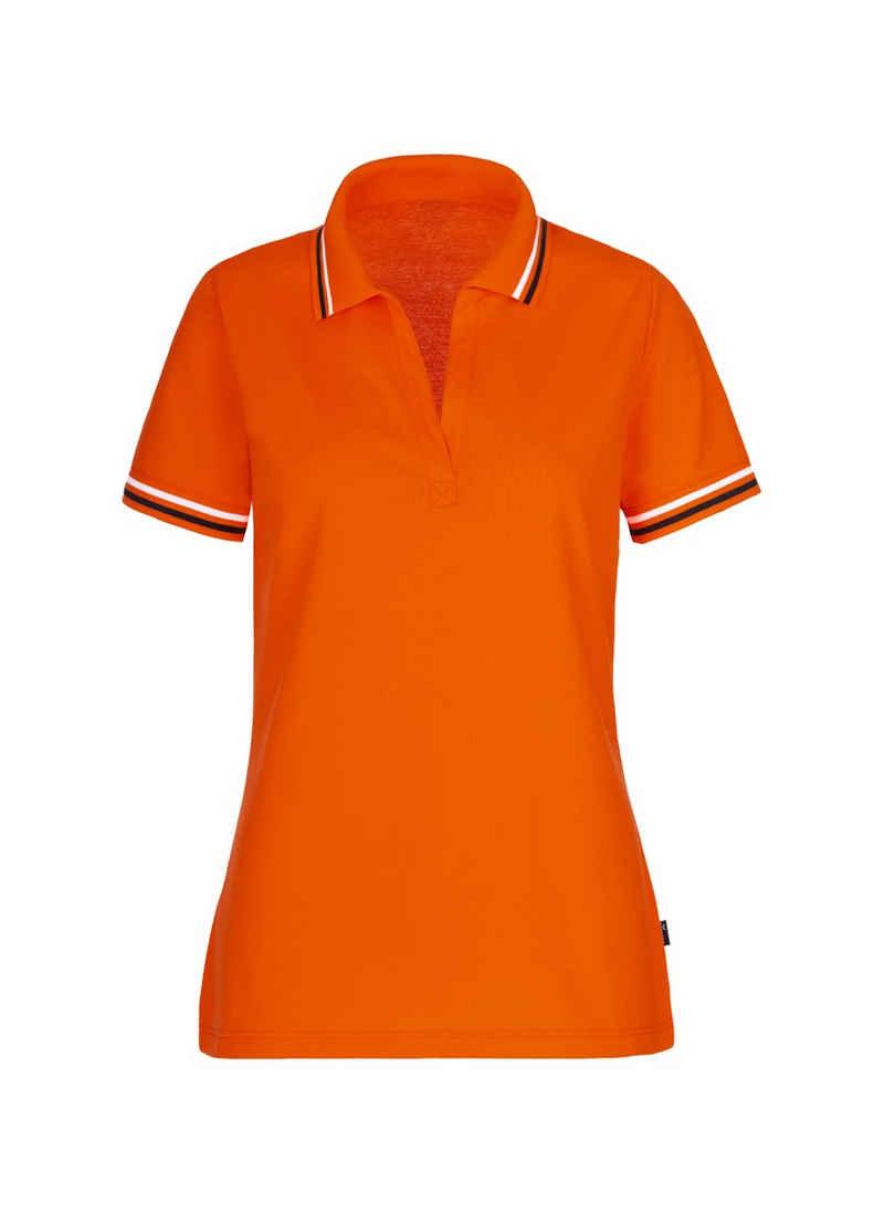 Trigema Poloshirt ohne Knopfleiste