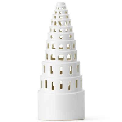 Kähler Teelichthalter »Lichthaus Urbania High Tower; Teelichthaus aus Keramik«