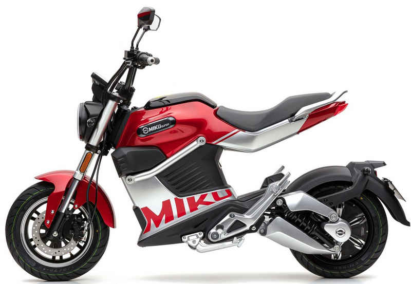 ECONELO E-Motorroller »SUPER MIKU«, 3000 W, 80 km/h