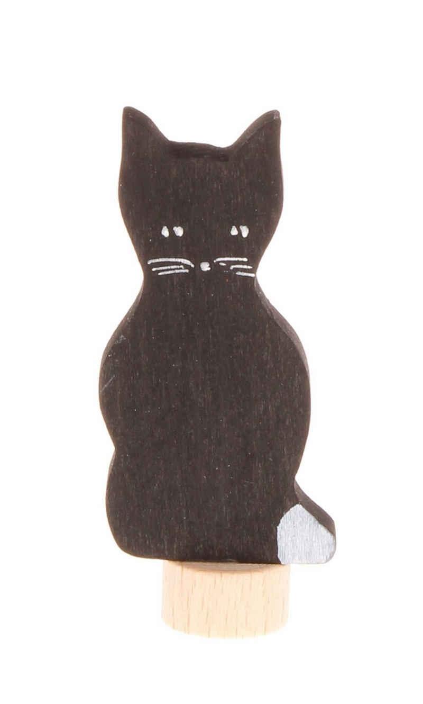 GRIMM´S Spiel und Holz Design Kerzenständer, Stecker Katze