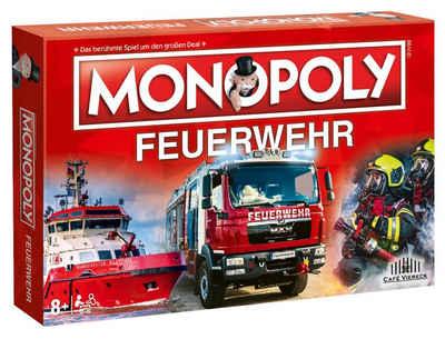 Winning Moves Spiel, Brettspiel »Monopoly Feuerwehr«