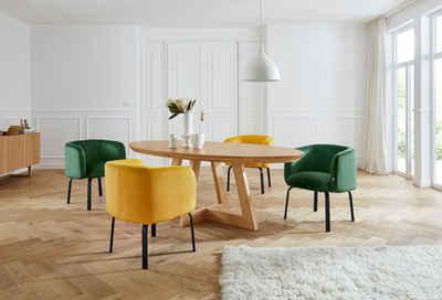 andas Esstisch »Tonje«, Design by Morten Georgsen, Tischbeine in Kufenform