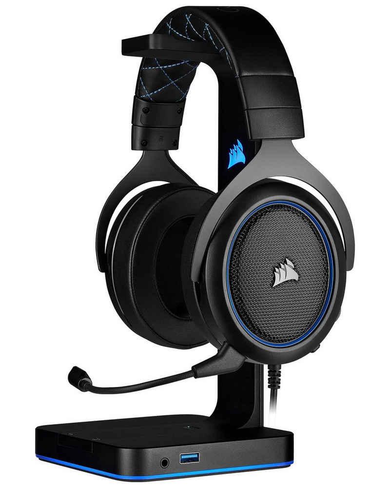 Corsair »HS50 PRO Stereo Blue« Gaming-Headset