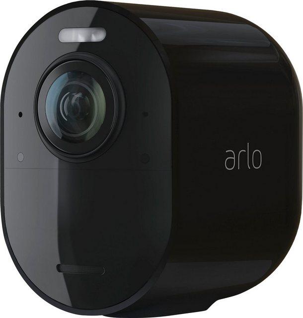 ARLO »ARLO Ultra 2 Spotlight-Kamera« Überwachungskamera (Außenbereich, Integriertes Spotlight, Benutzerdefinierte Aktivitätszonen, Integrierte intelligente Sirene, Integrierter Scheinwerfer, Wetterbeständig)