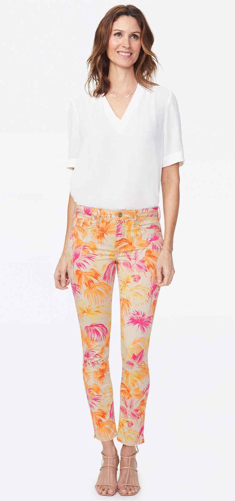 NYDJ 5-Pocket-Jeans »in Premium Denim« Alina Ankle