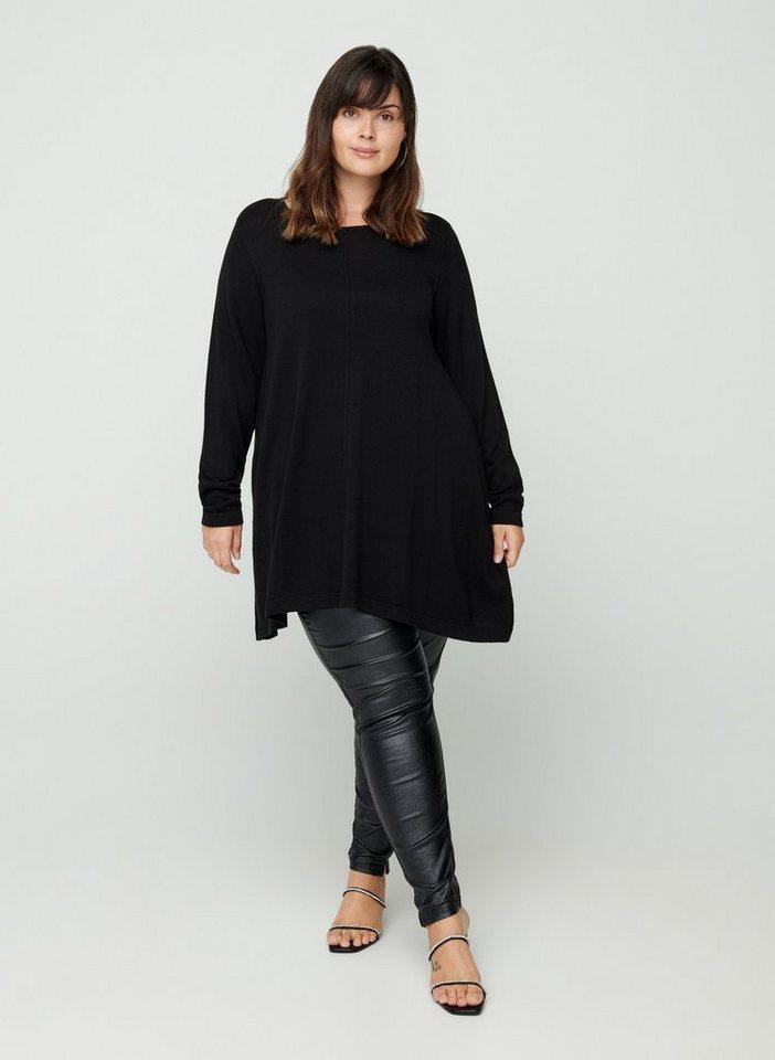 Zizzi Strickpullover Große Größen Damen Pullover aus