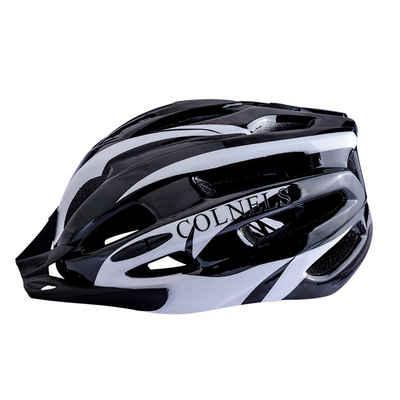 JI-ROC Fahrradhelm »Specialized Fahrradhelm Helm Mountainbike Helm Herren & Damen Schwarz mit Rucksack Fahrrad Helm Integral 20 Belüftungskanäle«, Verstellbares Innenringsystem; mit beleuchtetem Innenringsystem